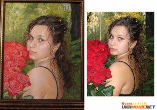 Портрет маслом,портрет карандашом,портрет сухой кистью,пейзаж маслом,картины маслом