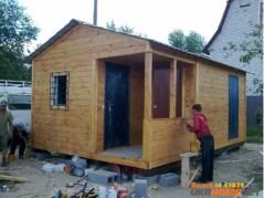 Бытовки дачные и строительные,дачные домики.