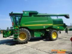 Зерноуборочный комбайн John Deere T670I (2009 г.в.)
