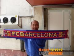 """Шарф футбольного клуба """"Барселона"""",     привезенного из Испании"""