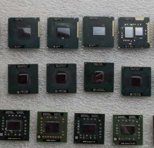 Процессоры для ноутбуков.