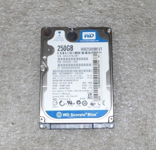 Жесткий диск WD 250GB 2.5