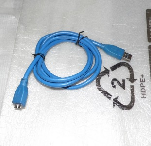 Кабель 1.2m USB 3.0 blue