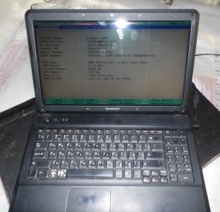 Ноутбуки Ноутбук Lenovo (на запчасти)