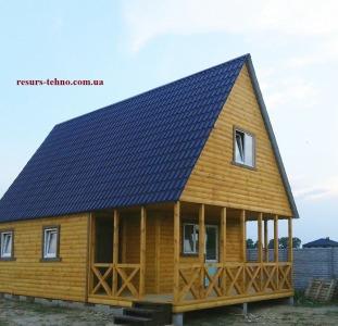 Домики дачные деревянные,бытовки дачные,строительные.