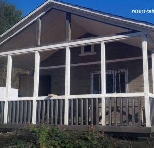 Строительные, ремонт Дачные домики.Бытовки из дерева.