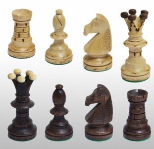 Деревянные польские шахматы опт Амбассадор арт. 2000