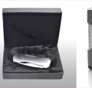 Зажигалки подарочные для сигар, сигарет газовые турбо пламя, опт розница