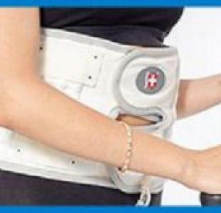 Пояс Корсет двойной усиленный SPINAL DOCTOR для спины и поясницы пневматический