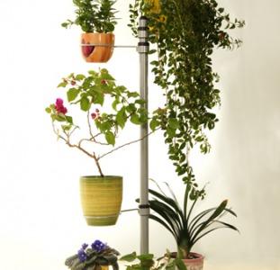 Передвижная напольная подставка для цветов