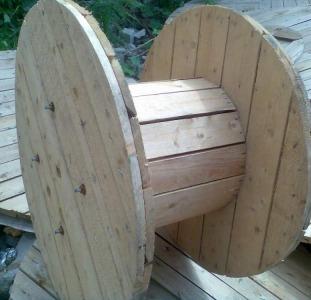 Кабельные и канатные барабаны деревянные