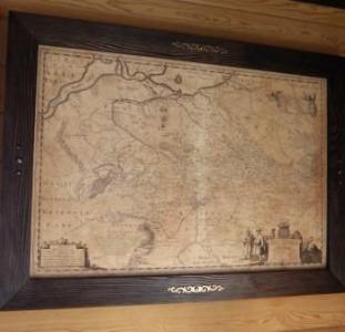Подарок Директору - Генеральная карта 1648г