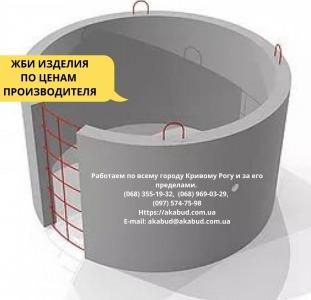 Строительные, ремонт Кольца для колодцев и выгребных ям (крышки, днища)