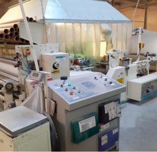 Устаткування виробництва рулонів туалетного паперу і паперових рушників