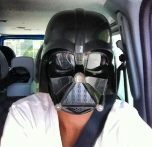 Шлем Дарта Вейдера новый с модулятором голоса Звездные Войны