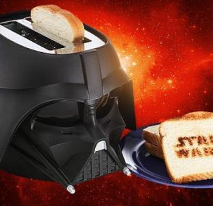 Тостер в виде шлема Дарта Вейдера Звездные войны