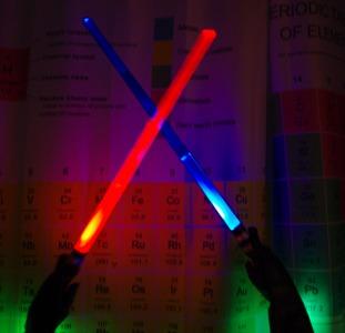 Пара световых мечей со звуком и светом