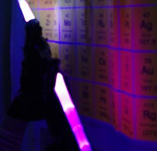 Световой меч двойной 153 см со звуком и светом