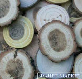 Декор Спилы срезы древесные для декора и рукоделия в ассортименте