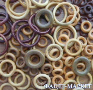 Декор Кольца декоративные деревянные для рукоделия