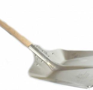 Лопата для снега Florabest 160 см Бежевый-металлик