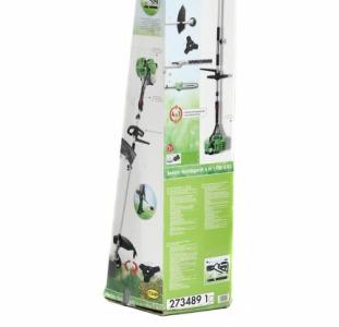 Садовый универсальный бензиновый инструмент, зеленый