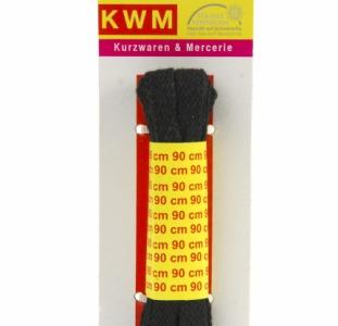 R5-330008, Шнурки черные, 90 см, черный