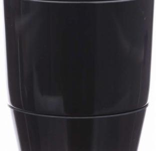 Вазон Florabest с подставкой 13 см Черный