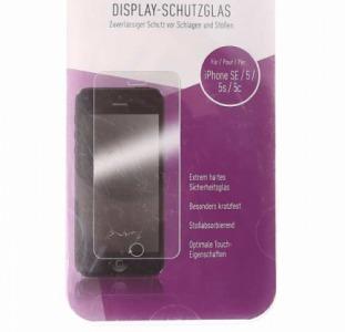 Защитное, прозрачное стекло для Iphone SE, 5, 5с, 5s