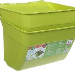 Вазон 2 в 1 Florabest 36х24х25 см Салатовый (L11-290264_салатовый)  (продам)