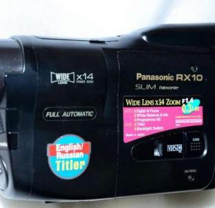 Видеокамера Panasonic RX-10