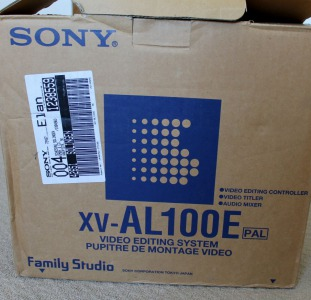 Sony video editing system XV-AL100E