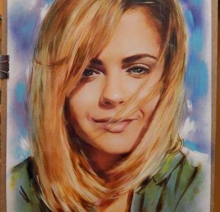 Картины Заказать портрет  Нарисовать портрет по фото на заказ