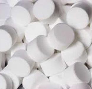 Соль таблетированная для очищения воды
