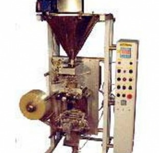 Автоматическая установка для фасовки и упаковки сыпучих продуктов со шнековым дозатором