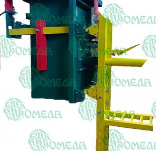 Дозатор весовой полуавтомат для фасовки цемента и других аэрируемых материалов в клапанные мешки