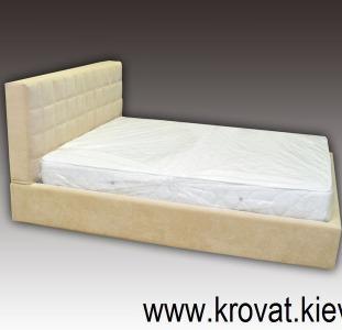Кровати с мягким изголовьем на заказ