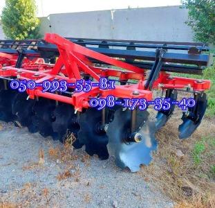 Новый дископлуг БДН-2,1/БДН-2,4 навесной  для трактора МТЗ, ЮМЗ