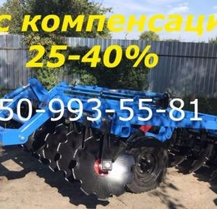 Спецтехника Борона НАВЕСНАЯ прицепная 1.8 (2.1-2.4-2.8-3.1) для трактора Т-150 МТЗ