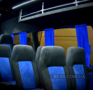Автобусные сиденья в микроавтобус автобус переоборудование салона сиденья-трансформеры