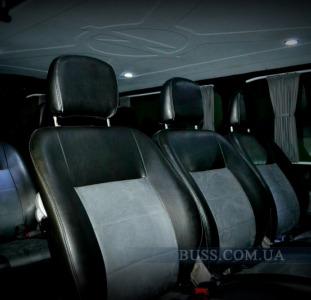 Переоборудование обшивка салонов микроавтобусов автобусов перетяжка салона