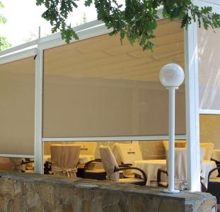 Шторы Рефлексоли, внешние, наружные рулонные шторы