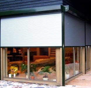 """Защитные роллеты """"Alutech"""" (Алютех) на окна и двери от производителя."""