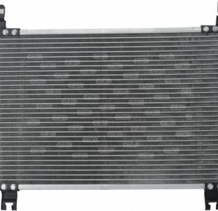 Радиатор кондиционера Тойота ярис 1.0 1.3 1.33 Toyota Yaris VVT-i (2005-...)