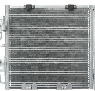 Радиатор кондиционера Опель астра зафира 1.3 1.7 1.9 дизель Opel Astra H, Zafira B (2004-...)