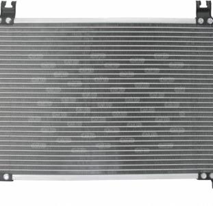Радиатор кондиционера Тойота ярис 1.4 дизель Toyota Yaris 1.4 D-4D, (2005-...)