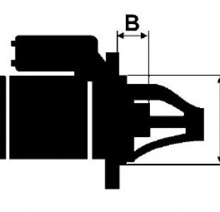Стартер Бмв 3 5 1.8 2.0 дизель Bmw E39 E46 (1998-2005)