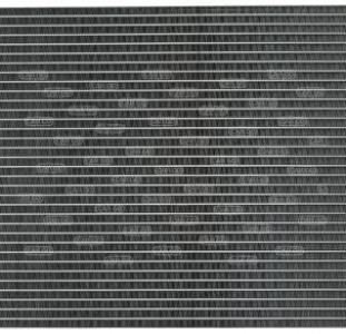 Радиатор кондиционера Ивеко еврокарго тектор Iveco EuroCargo tector (2000-...)