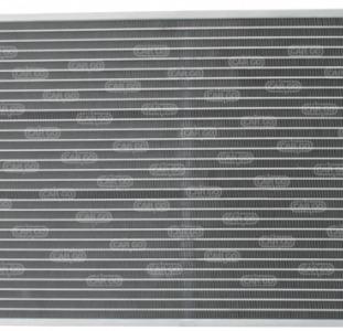 Радиатор кондиционера Опель корса 1.3 1.6 1.7 Opel Corsa D CDTi, (2006-...)