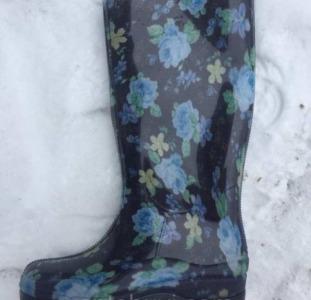 Одежда и обувь Сапоги женские резиновые силиконовые Реалпакс оптом